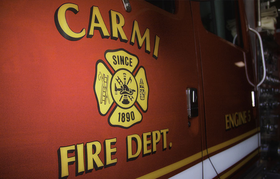 For almost 135 years, the volunteers of the Carmi Fire Department have been answering the bell whenever their neighbors call