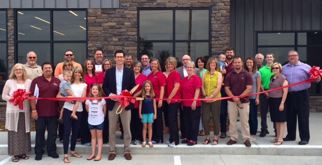 8d326b8ea5d3 The Carmi Chamber of Commerce held a Ribbon Cutting today for the new Taylor  Eye Care office