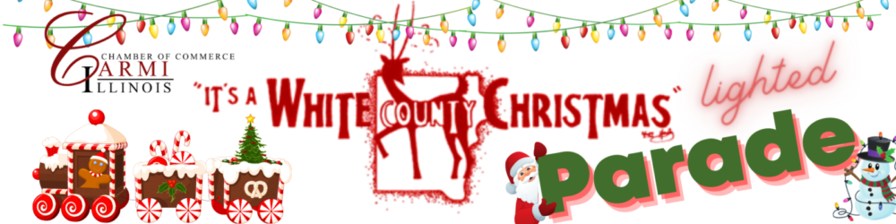 It's A White County Christmas Lighted Parade